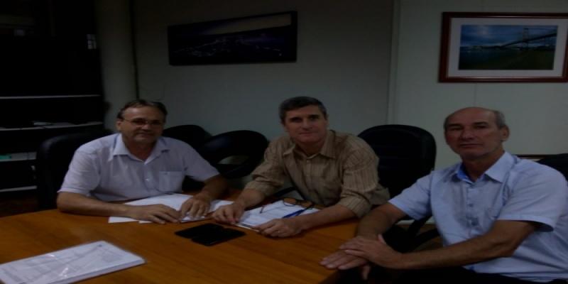 Vereadores Abílio Debortoli e Luiz Chimello protocolam Pedido de Informação em relação à Rodovia SC-156 na Secretaria de Infraestrutura do Estado