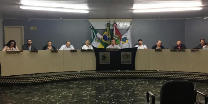 Legislativo reuniu-se nessa terça-feira, dia 05, para a Primeira Sessão Ordinária do mês